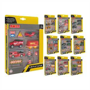 PLAYSET DIE CAST VEICOLI 12ASS