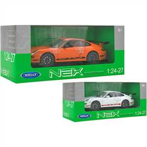 WELLY PORSCHE 911 GT3 RS DIE CAST   1:24 2COL