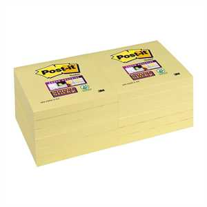 SUPER STICKY POST IT 76X76          GIALLO CANARY