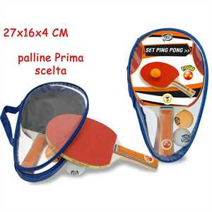 PING PONG PRESTIGE CON 2 PALLE 10 MM