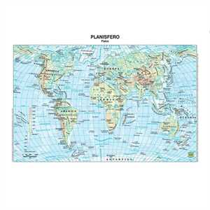 Cartina Muta Mondo Grande.Cartina Geografica Carta Muta Mondo Belletti Carte Geografiche Minerva 2000