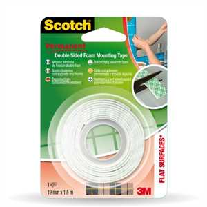 SCOTCH mm19x1,5 BIADESIVO MOUNTING FORTE 3M