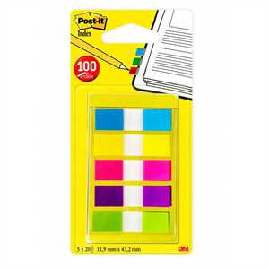 POST-IT SegnaPagina pz4 MINI 3M     INDEX 683