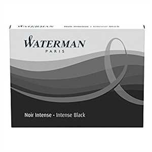 CARTUCCE STANDARD Intense Black WATERMAN