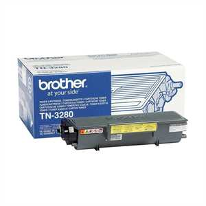 BROTHER Toner Nero *TN-3280* DCP8070/HL5340/5380/MFC8370/8890 pg8000